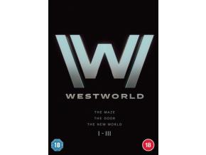 Westworld S1-3 (DVD Box Set)