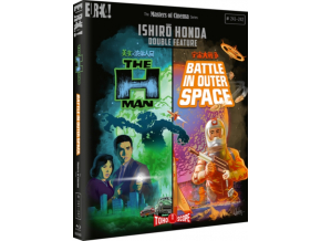 Ishiro Honda Double Feature: The H-Man & Battle In Outer Space (Blu-ray)