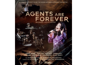 DANISH NATIONAL SYMPHONY ORCHESTRA - Agents Are Forever (Blu-ray)