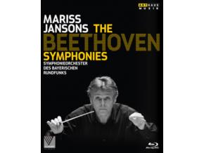 MARISS JANSONS - Beethovencomp Symphs (Blu-ray)