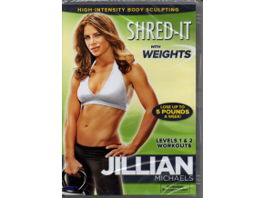 jillian michaels shred it with weights dvd