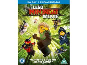 The LEGO Ninjago Movie [Blu-ray + Digital Download] [2017] [Region Free] (Blu-ray)