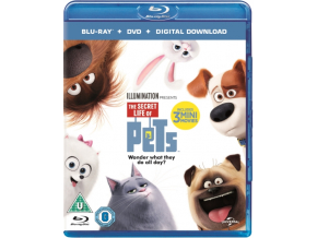 The Secret Life Of Pets (Blu-ray + DVD )
