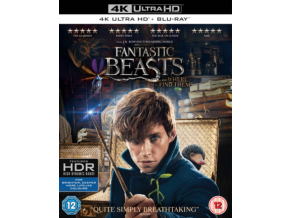 Fantastic Beasts and Where To Find Them Includes Digital Download [4K UHD] [2016] [Blu-ray]