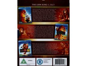 The Lion King 1-3 Trilogy (Blu-ray) (Region Free)