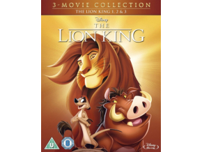 The Lion King 1-3 Trilogy (Blu-ray) (Region Free)