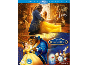 Beauty & The Beast Live Action/Animated Doublepack (Blu-ray) [2017]