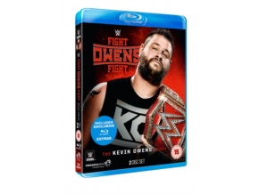 WWE: Fight Owens Fight - The Kevin Owens Story [DVD] [Blu-ray] (Blu-ray)