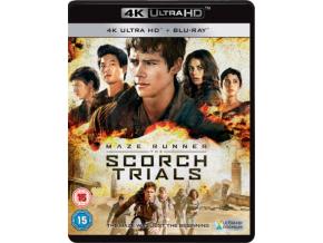 Maze Runner: The Scorch Trials [4K Ultra HD Blu-ray ]