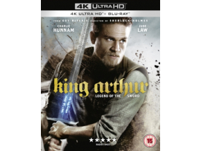 King Arthur: Legend of the Sword [4K UHD + Digital Download] [Blu-ray] [2017] (Blu-ray)