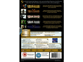 Pirates of the Caribbean 1-5 Boxset [DVD]