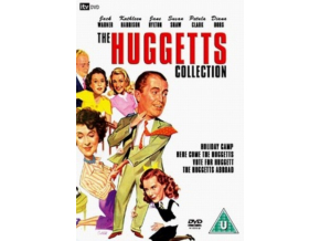 Huggetts Collection - Holiday Camp / Here Come The Huggetts / Vote For The Huggetts / The Huggetts Abroad (DVD)