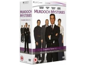 Murdoch Mysteries - Series 1 -3 Box Set (DVD)