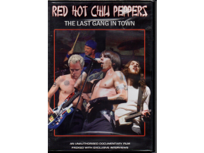 dvd red hot chili peppers the last gang in town