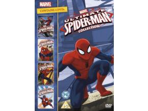 Ultimate Spider-Man Boxset (Volumes 1-4) (DVD)