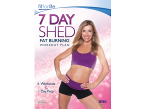 7 Day Shed Fat Burning Workout Plan - 6 Workouts & 1 Preparation Day - Joey Bull - Fit for Life Series [DVD]
