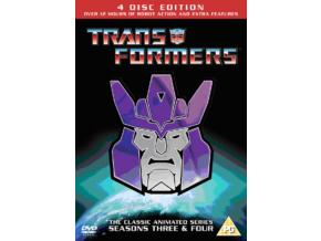 Transformers - Series 3 & 4 (DVD)