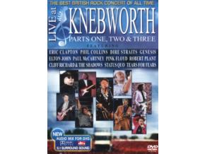 Live At Knebworth 1990 - Parts 1-3 (Various Artists) (DVD)