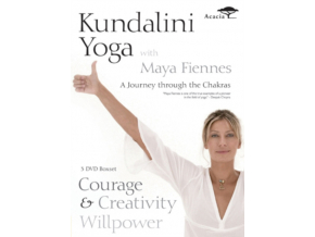 Kundalini Yoga with Maya Fiennes - A Journey Through the Chakras: Courage  Creativity and Willpower [DVD]