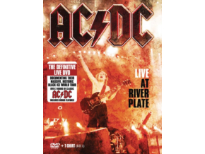 AC/DC Live At River Plate (plus large t-shirt) (DVD)
