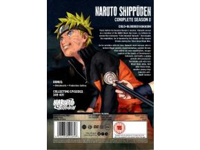 Naruto Shippuden Complete Series 8 Box Set (Episodes 349-401) [DVD]