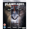 PLANET OF THE APES TRILOGY BOXSET 4K UHD (Blu-ray 4K)