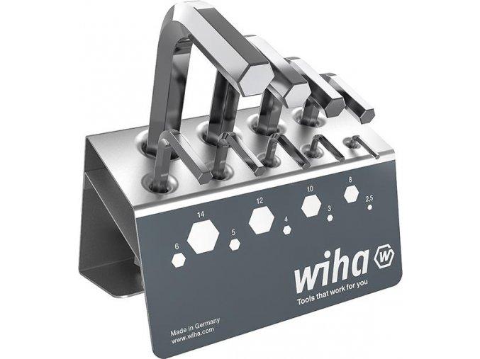 Sada šestihraných klíčů (inbus) dlouhých ve stojanu WIHA 352VB1