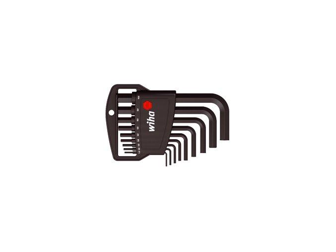 Sada šestihraných klíčů (inbus) WIHA fosfátované 1,5-10mm (06379)