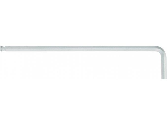 Šestihranný úhlový šroubovák dlouhý s kulovou hlavou WIHA 6x184mm (20551)