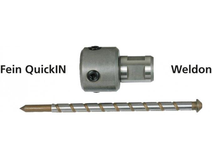Adaptér Alfra pro vrtáky s upínáním FEIN-QuickIN a stopkou Weldon  (20210)