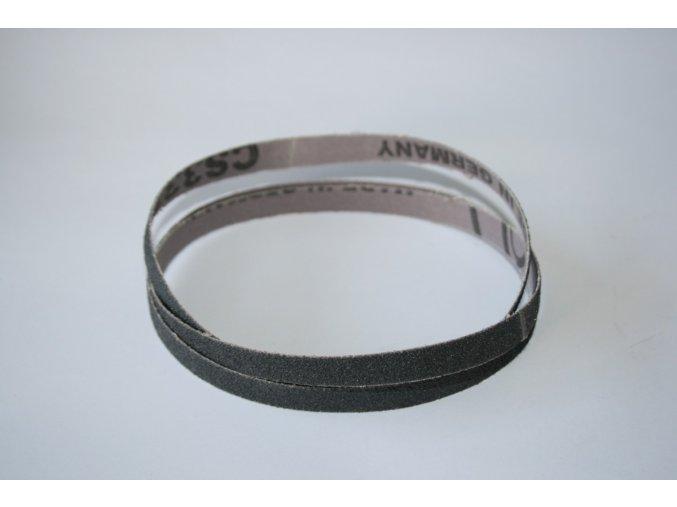 Brusný pás černý pro pásovou brusku Elmag EPS 450 - zrnitost 60 (25ks)