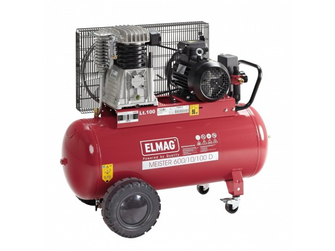 Pístový kompresor ELMAG Maister 600/10/100 D AKCE