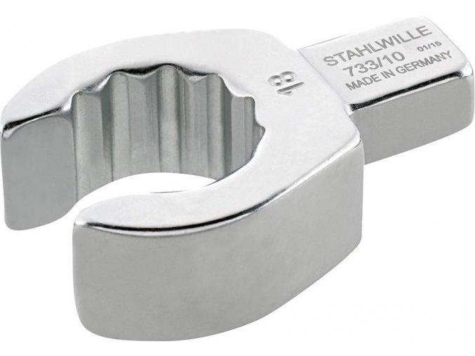 Nástrčný očkový klíč otevřený Stahlwille 733/10 - 19mm  (58231019)