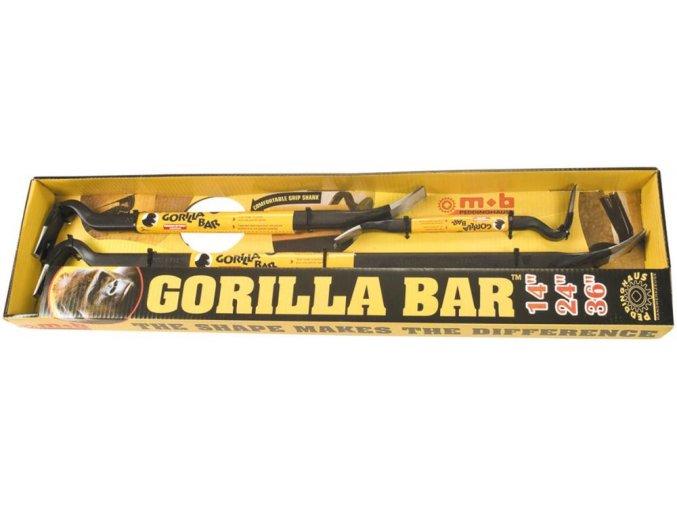 Sada páčidel- vytahovačů hřebíků Peddinghaus Gorilla Bar (350,600,900 mm)