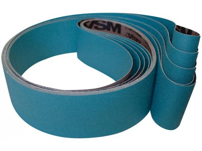 Brusný tkaninový pás zirkonkorund VSM ZK713X  50x1000 mm - K80