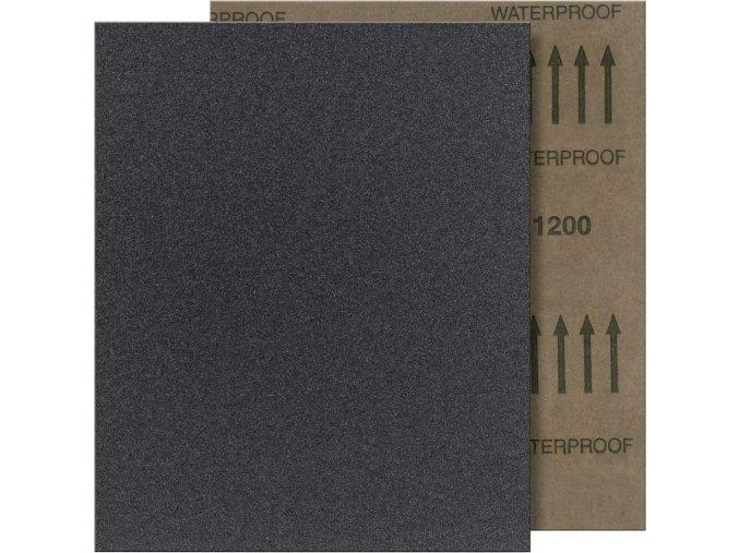 Brusný arch voděodolný Fortis 230x280mm - K150