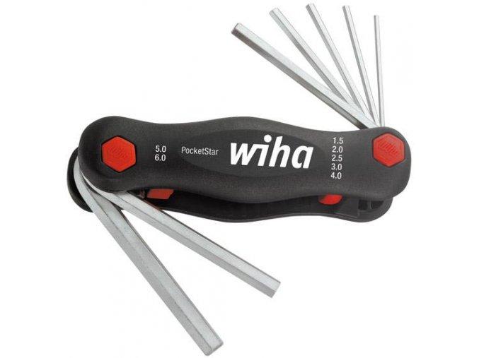 Sada šestihranných šroubováků WIHA PocketStar 23041