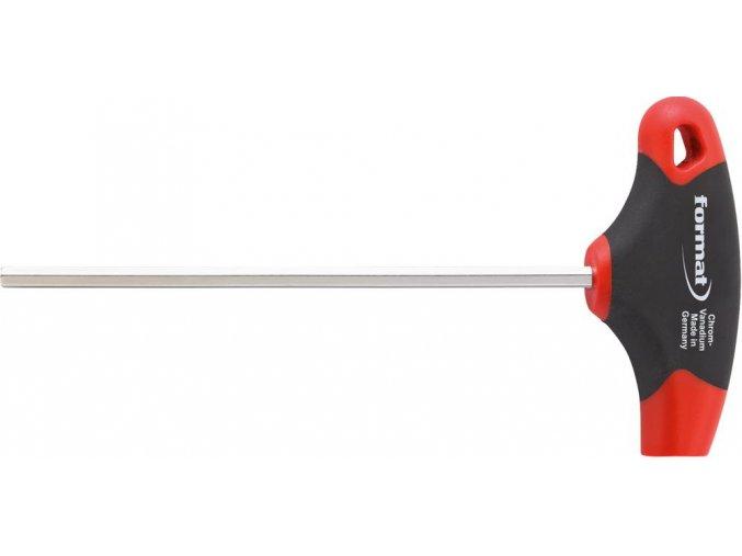 Šestihraný šroubovák (inbus) s příčnou rukojetí Format 6 (100mm)