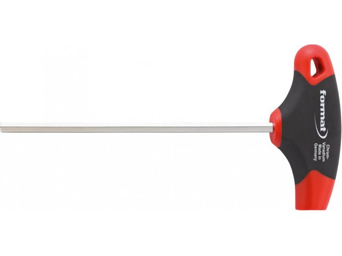 Šestihraný šroubovák (inbus) s příčnou rukojetí Format 8 (100mm)