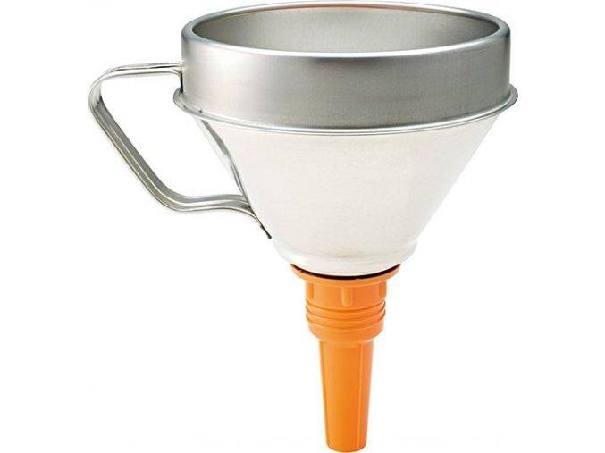 Trychtýř pocínovaný Pressol 02342 - 160 mm