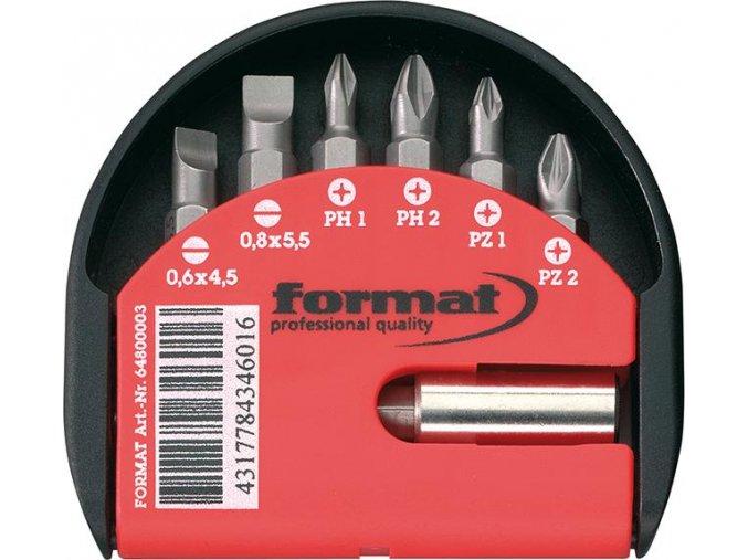 Sada bitů Format - 7 dílná (PH, PZ, plochý)
