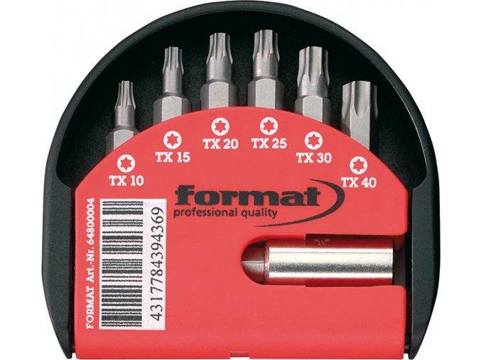 Sada bitů Format - 7 dílná (TORX)