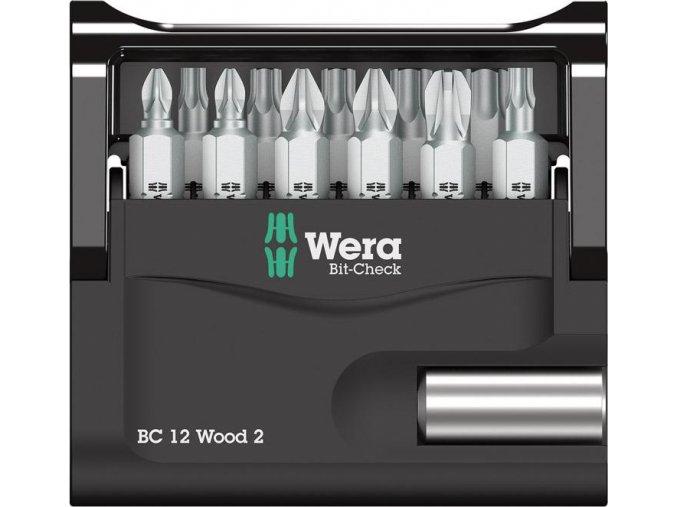 Sada bitů Wera Bit-Check 12 Wood 2 (05057422001)