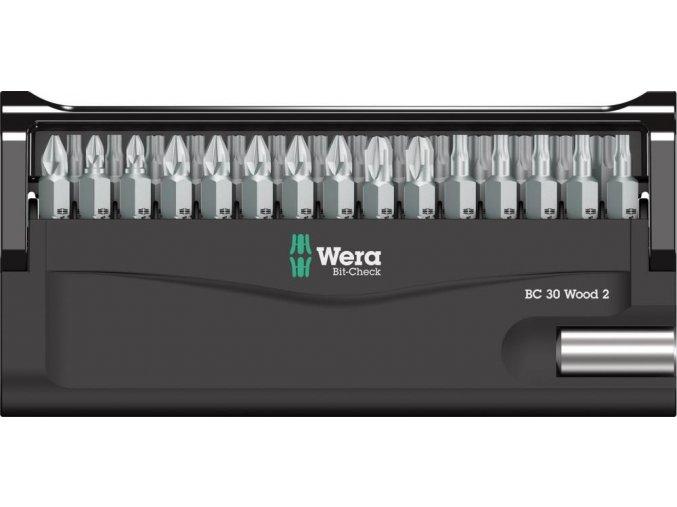 Sada bitů Wera Bit-Check 30 Wood 2 (05057432001)