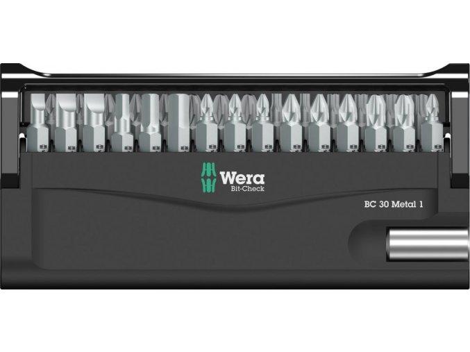 Sada bitů Wera Bit-Check 30 Metal 1 (05057434001)