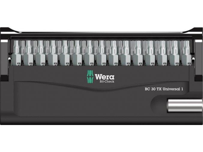 Sada bitů Wera Bit-Check 30 TX Universal 1 (05057908001)