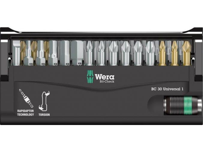 Sada bitů Wera Bit-Check 30 Universal 1 (05056440001)