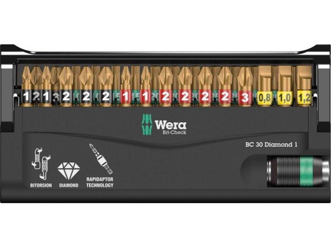 Sada bitů Wera Bit-Check 30  Diamond 1 (05057431001)