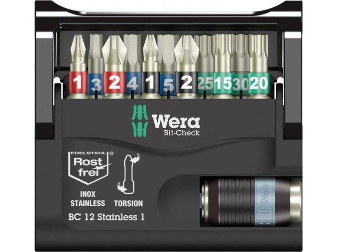 Sada bitů Wera Bit-Check 12 Stainless 1 (05057425001)