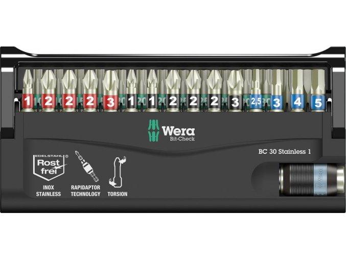 Sada bitů Wera Bit-Check 30 Stainless 1 (05071109001)